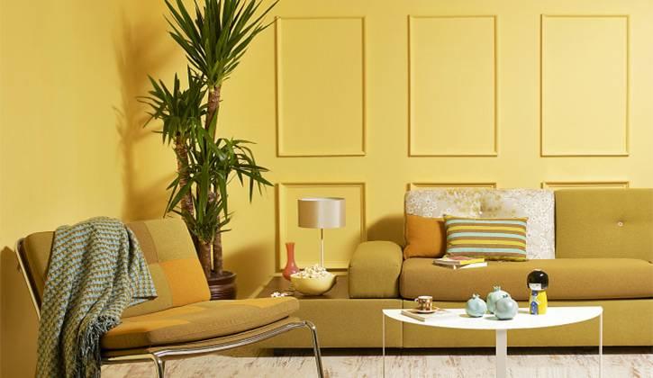 Peinture interieur jaune